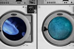 collage, lavadoras, underwater, social media